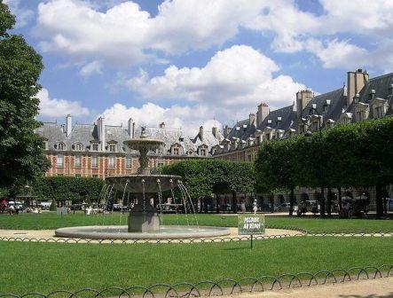 Погода в августе в париже